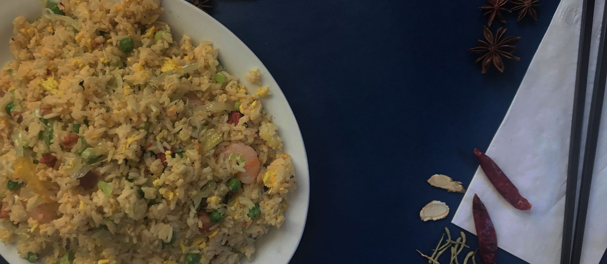 FRIED RICE & STEAMED RICE